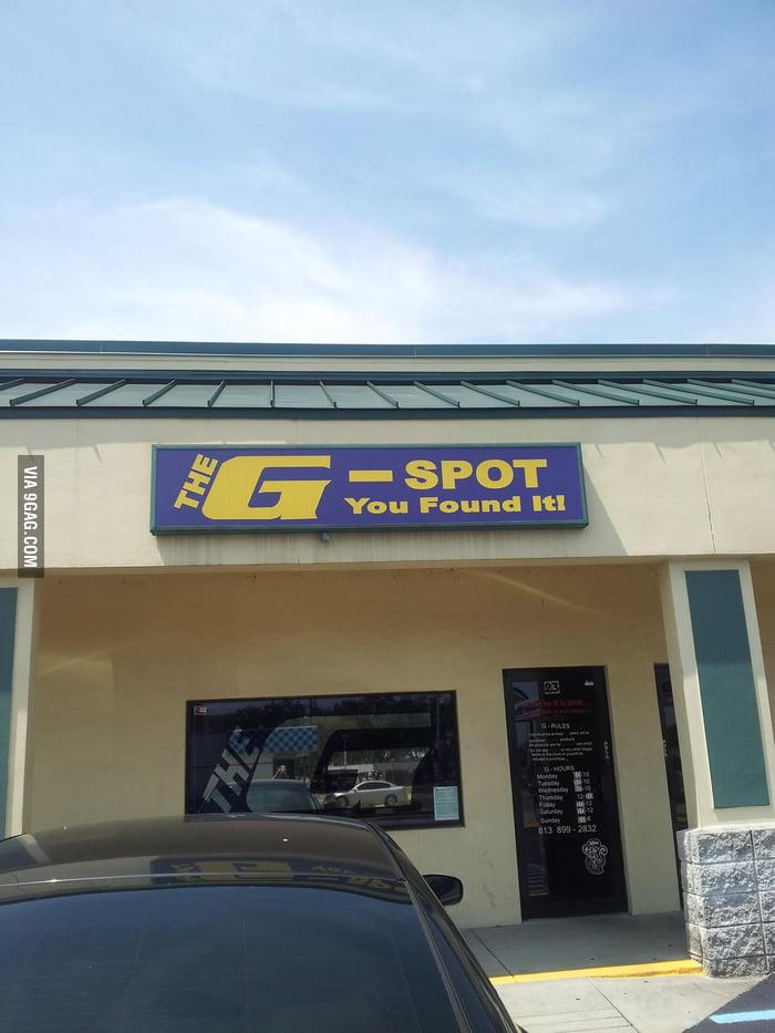 I found the G-spot!