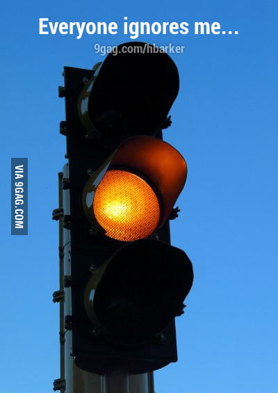 Poor traffic light