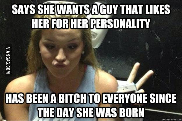Annoying Suburban Girl - Personality