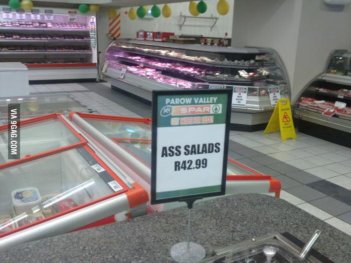 I wouldn't eat that salad