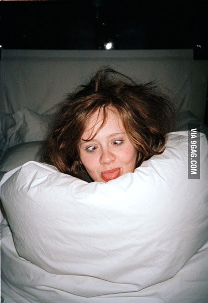 The best photo of Adele on the internet.