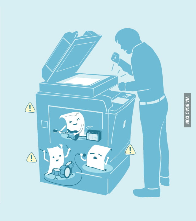 How it goes in my printer