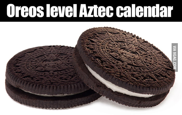 Oreos level aztec calendar