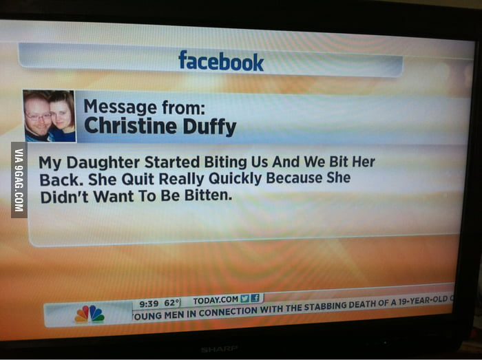 Parenting win?