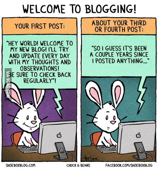 Welcome to Blogging!
