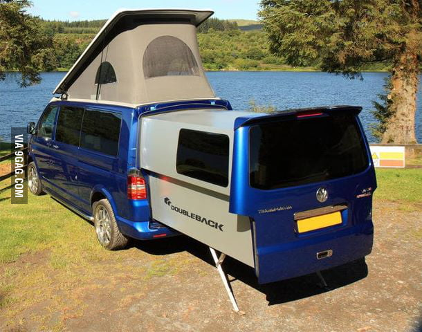 Who's up for camping?