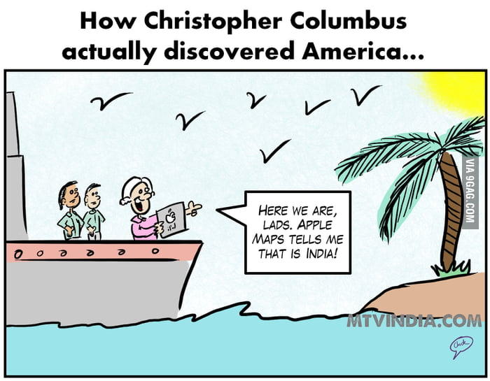 How Christopher Columbus actually discovered America...