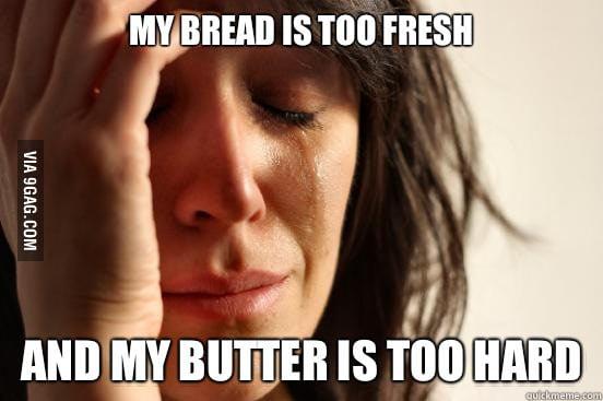 First World Breakfast Problem