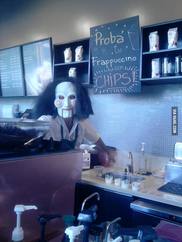Meanwhile...In Starbucks, Argentina