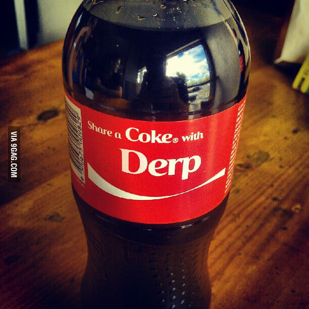 Coke are doing a promotion