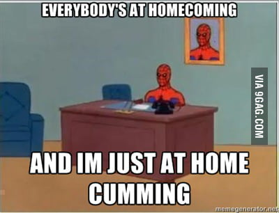 Spiderman is at homecoming