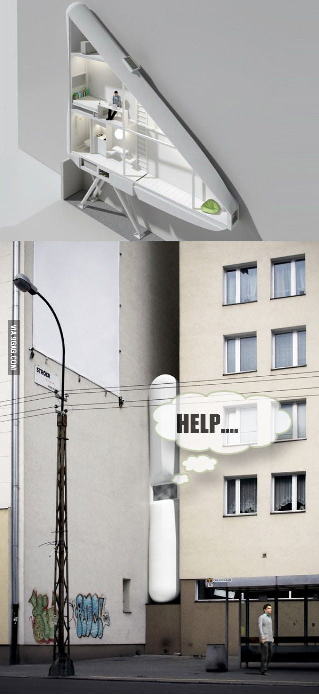 Worlds Thinnest House In Poland: I would live there
