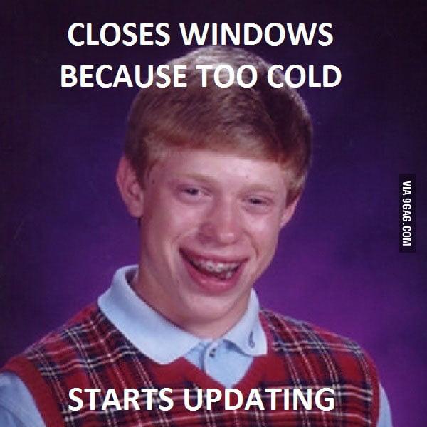 Happend to me last night.