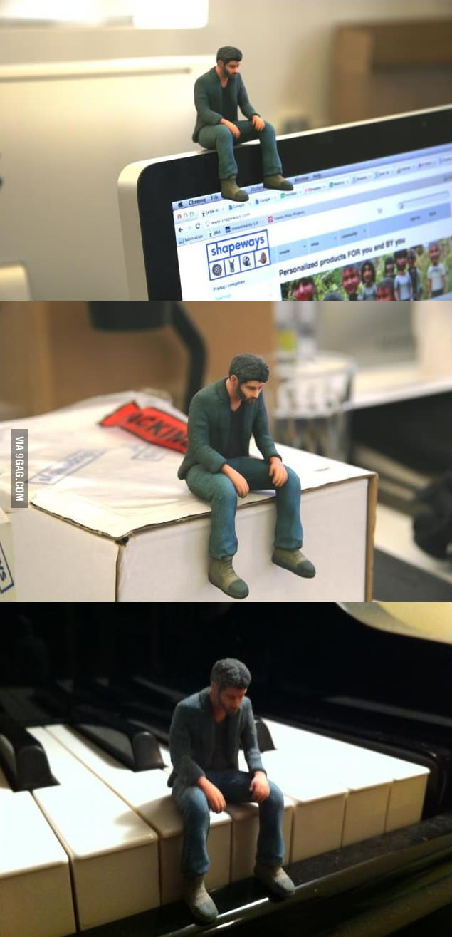 Sad Keanu Figure