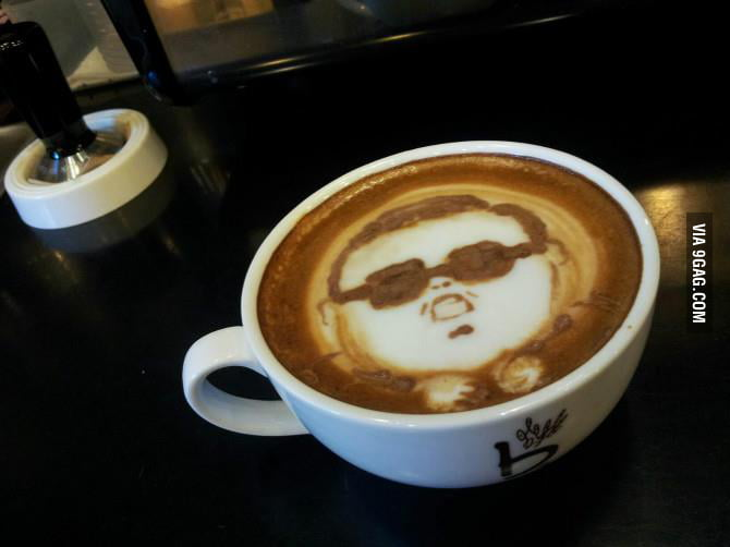 My friend ordered a cappuccino and this is what he got.