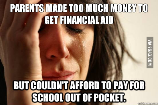 The problem with College fee