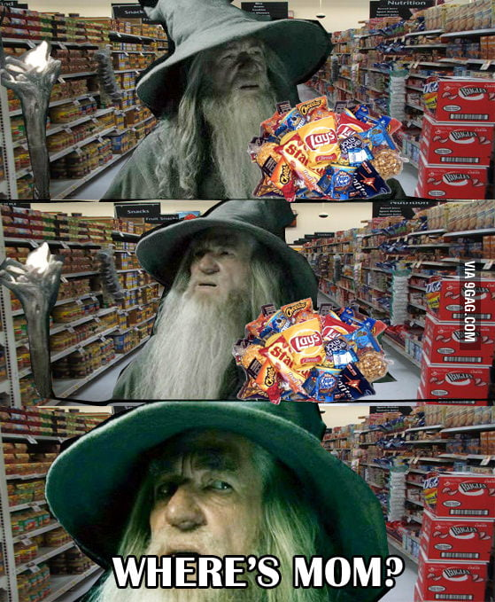 Gandalf at the Grocery