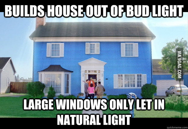 Scumbag Budweiser
