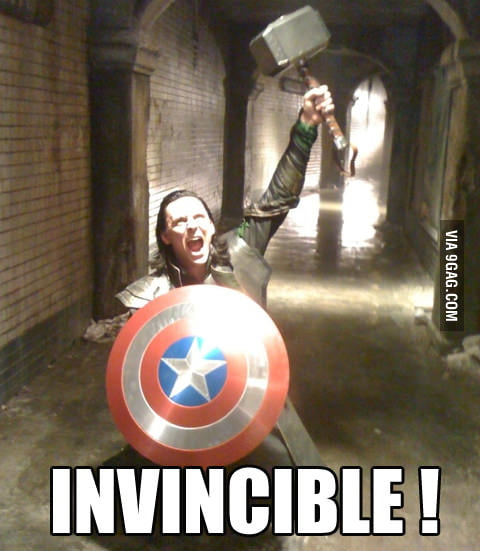 He is invincible now!