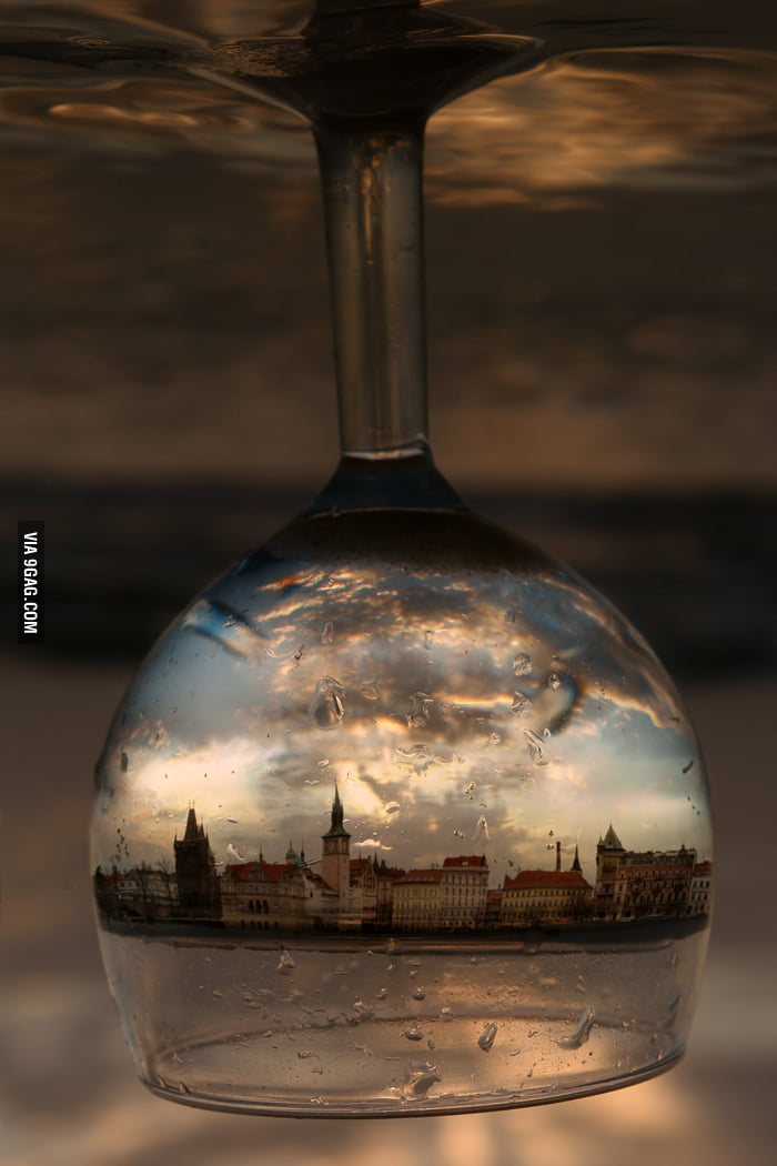 City in a Wine Glass