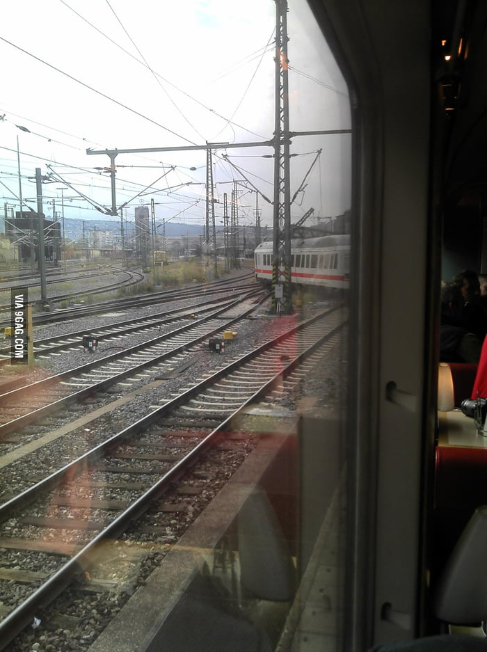 My train got derailed (Stuttgart, Germany)