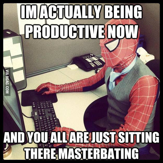 Business Spiderman