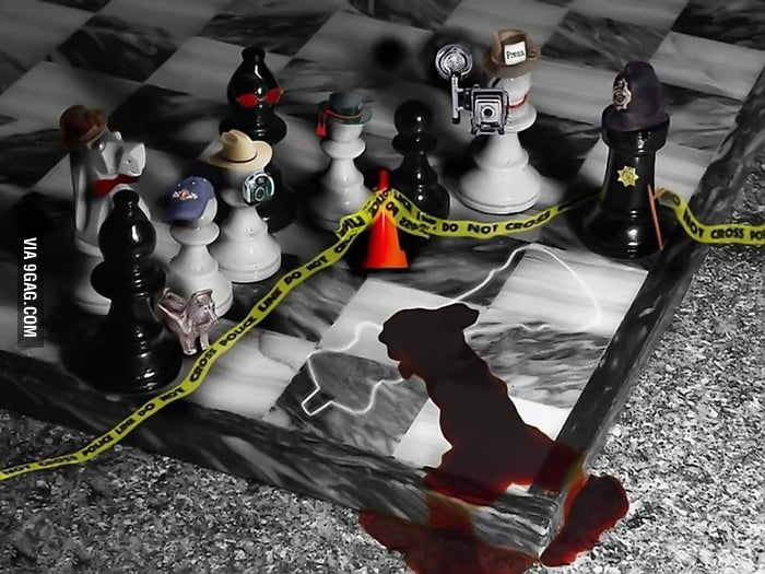 Crime Scene in Chess