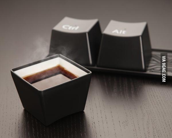 Ctrl-Alt-Delete Cup Set