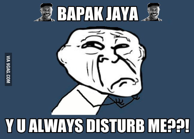 Introducing the newest meme, Pak Jaya