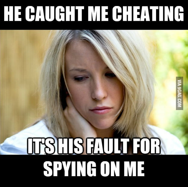 Cheating girlfriend logic