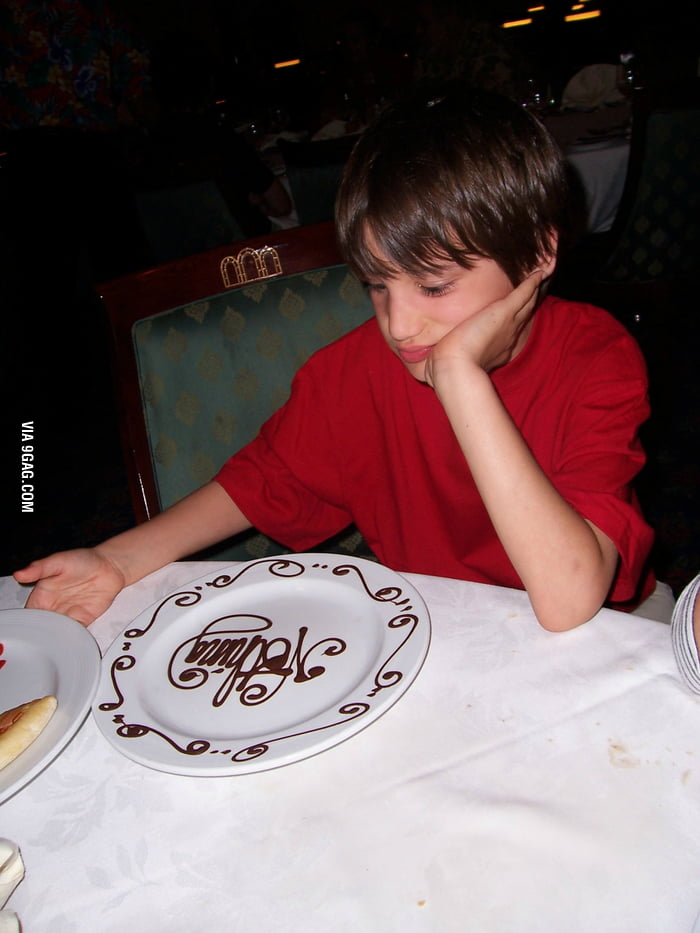"""Little brother wanted """"nothing"""" for dessert..."""