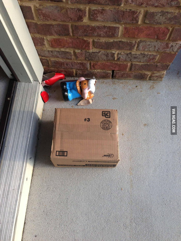 UPS drivers are heartless