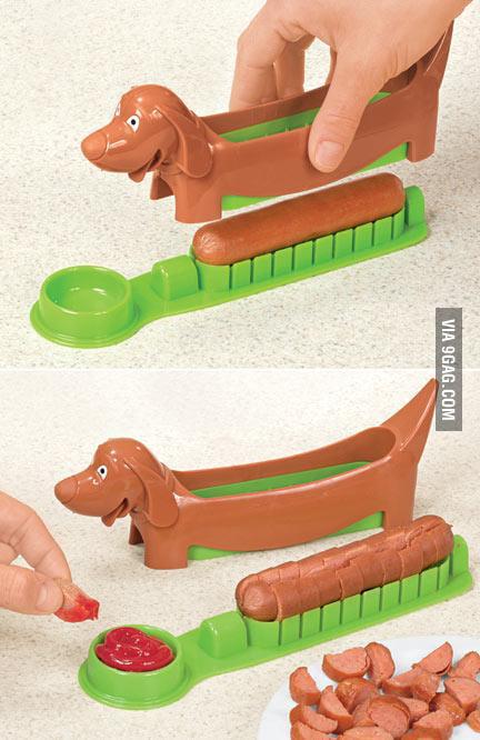 Hot Dog Slice 'n' Serve