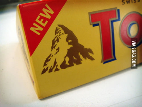 There's a hidden bear in the Toblerone symbol!