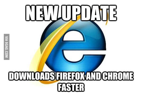 Good Guy Internet Explorer