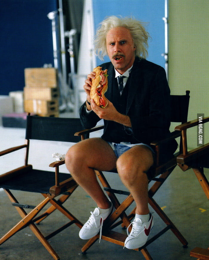 Will Ferrell as Albert Einstein