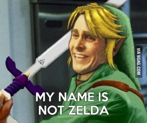 My name is not Zelda.