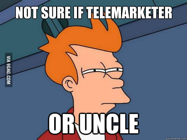 As an Indian stays abroad, when I pick up the phone