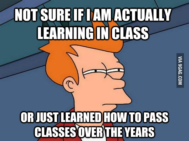 As a senior in college