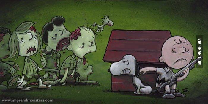The Walking Dead x Peanuts