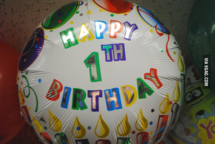 You probably should not give this balloon to your kid.