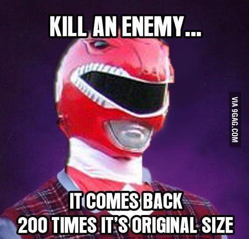 Bad Luck Power Rangers