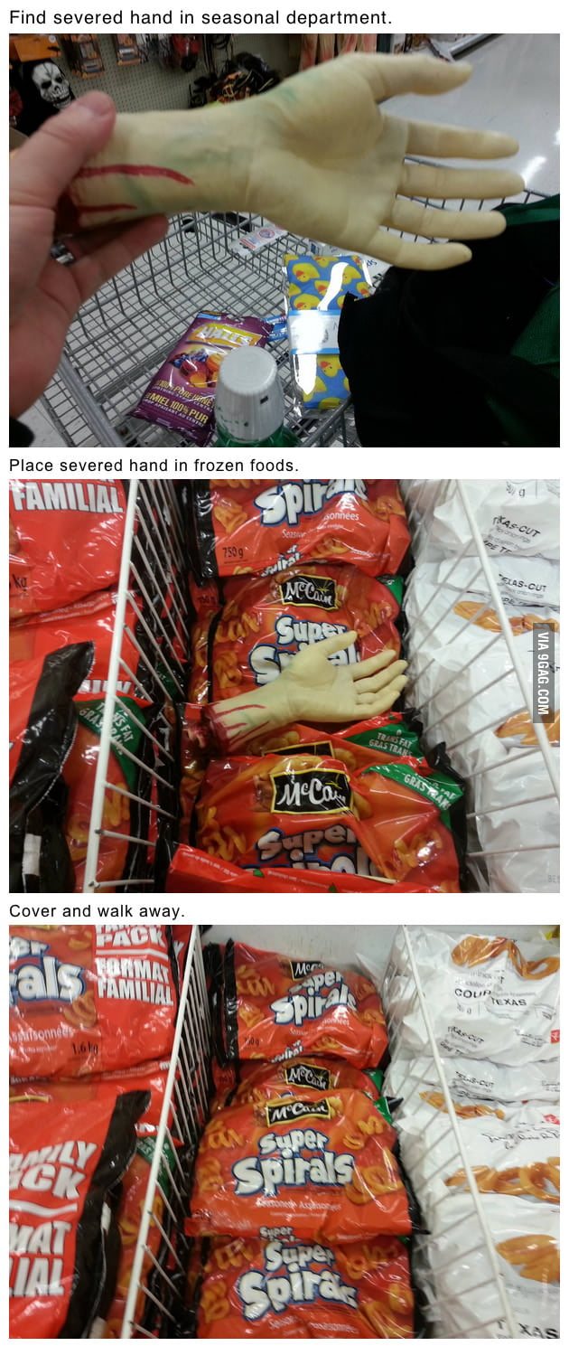 How to make grocery shopping fun