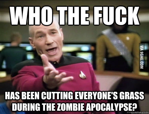 Every zombie movie/show ever.