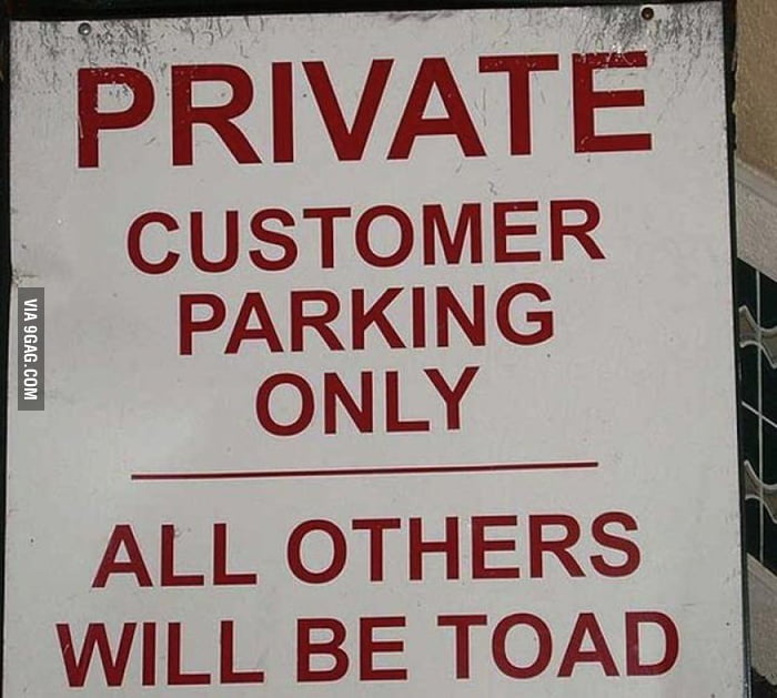 Amphibian parking