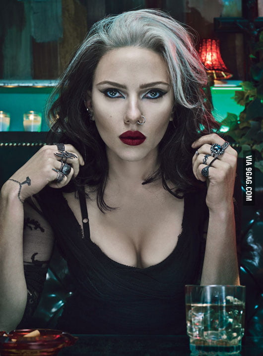 Scarlett Johansson wishes you a Happy Halloween!