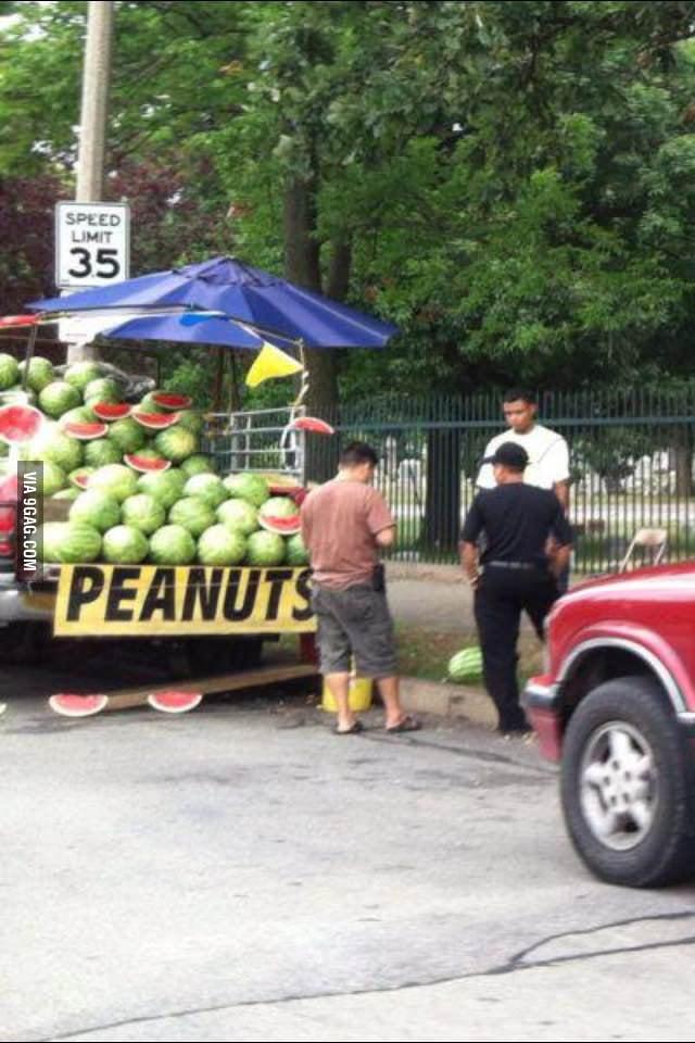Big ass peanuts
