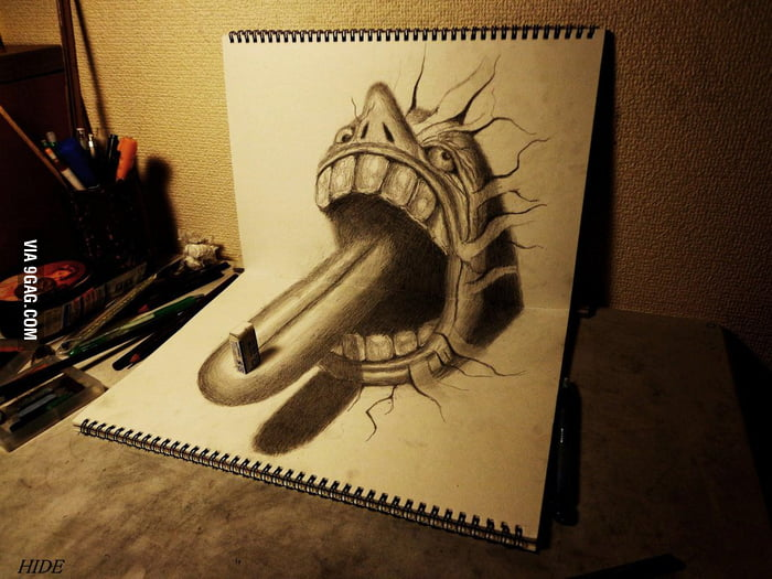 Awesome 3D Drawing