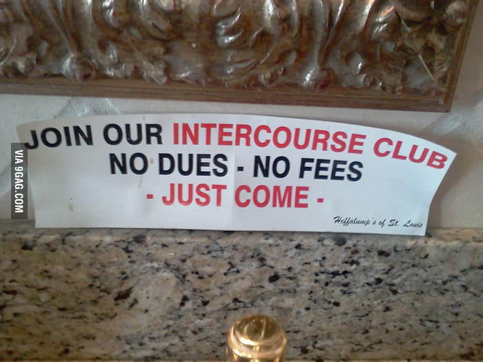 Join our intercourse club