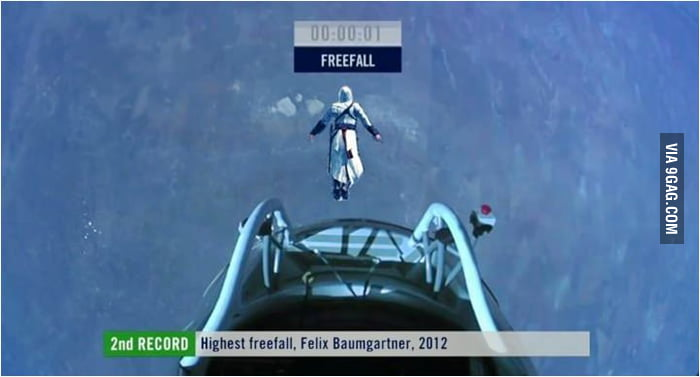 Assassin's Creed x Felix Baumgartner